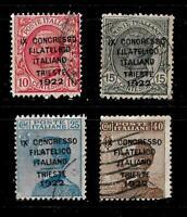 1922-Trieste-Congresso Filatelico -sass S 22 -  6
