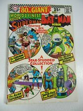 World's Finest #161 (Dc Comics 1966) Superman Batman 80 pg Giant Vg