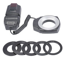 ML-150 Macro 49-67mm Ring Led Light Flash for Canon Nikon Pentax DSLR CAMERA