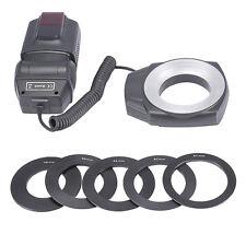 ML-150 Macro Close-Up O Ring Led Light Flash for Canon Nikon Pentax Olympus DSLR