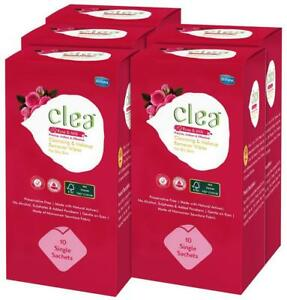Clea Cleansing & Makeup Remover Wipes (Rose & Milk) 10 Wipes (Pack-tXk