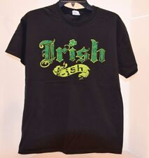 T-Shirt Irish Ish Black Short Sleeve Size Medium