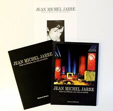 JEAN MICHEL JARRE La défense une ville en concert 1991- PHOTO ALBUM LIMITED