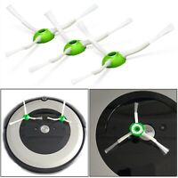 2pcs Green Side Brushes Replacement For iRobot Roomba i7 E5 E6 Vacuum Cleaner