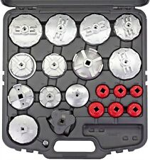 Welzh Werkzeug 19pc 3rd Gen Oil Filter Wrench Removal Set Multi Fitment