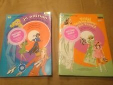 Lot of (2) Vintage FASHION SHOWs W/ RECORD Whitman Paper Doll Book + Record