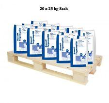 (0,34€/1kg) Halbe Palette Basalt Fugensplitt 1-3 mm 20x25 kg Sack