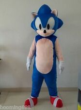 sonic the hedgehog video game character Cartoon Mascot Costume fancy dress