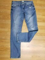 AEROPOSTALE~  Size 11/12 ~  BAYLA SKINNY ~ Distressed Faded Blue Denim Jeans