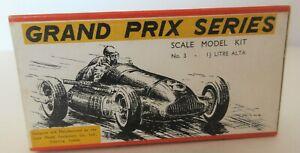 Rare Scale Model Equipment Co Ltd (S.M.E.C) 1.5 Litre Alta Grand Prix Racing Car