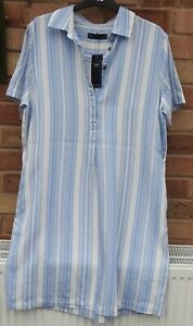 NEW WITH TAGS Marks & Spencer SIZE14 LADIES REGULAR SHIFT LENGTH DRESS IVORY MIX