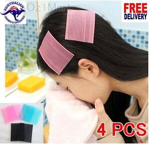 4 PCS Magic Fringe Bang Front Hair Holder Sticker Tape Bangs Patch Stabilizer