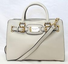MICHAEL KORS LEDERTASCHE/Shopper HAMILTON BAG Vanilla