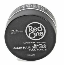 RedOne (Black) Aqua Hair Gel Wax Full Force Black 150 ml. / SAME DAY POST