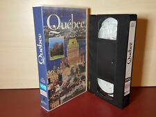 Quebec Canada - The Passion of Discovery - Tourism video - PAL VHS Video Tape