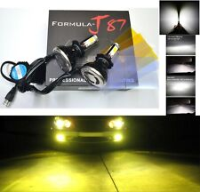 LED Kit G5 80W H7 3000K Yellow Two Bulbs Head Light Low Beam Replacement Upgrade