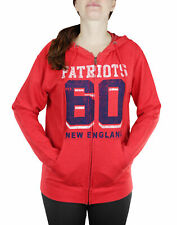 New England Patriots NFL Womens Established 1960 Zip French Terry Hoodie