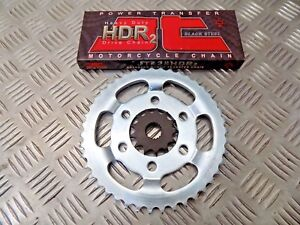 KSR GRS125 GRS 125 CHAIN AND SPROCKET KIT NEW JT HEAVY DUTY CHAIN