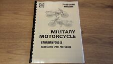 CAN-AM 250cc BOMBARDIER BRITISH EDN. MILITARY MOTORCYCLE PARTS MANUAL CAN06