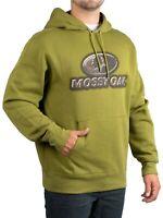 Mossy Oak Men's Lifestyle Military Green Camo Hoodie Sweatshirt Size S 34-36 NWT