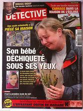 DETECTIVE du 11/7/2012; Son bébé déchiqueté sous ses yeux/ Mouss Diouf