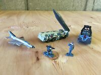 Micro Machines 1999 #13 Missile Marauders Complete Set w/Infantry & Scud launch