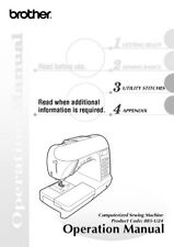 Brother SB4138 Sewing Machine Owners Instruction Manual Reprint