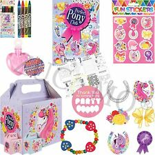Girls Pre Filled Party Bags for Children Luxury Themed Birthday Parties Pony