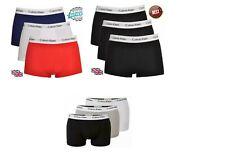 Calvin Klein Men's 3 In A Pack CK Boxers Low Rise Underwear Boxer Trunk