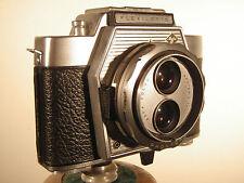 AGFA FLEXILETTE- zweiäugig -  mit Schachtsucher und Entfernungsmesser - um 1960