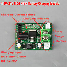 1.2V-24V 2.4V 3.6V 12V Ni-Cd Ni-Mh NiCd Battery Charging Board Constant Current