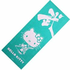 Japanese Kimono Kendo Tenugui Toell SANRIO Hello Kitty Sanrio Blue Green