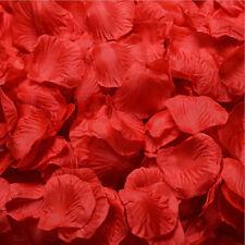 100-2000pcs Silk Rose Flower Petals Engagement Wedding Decoration Confetti DIY