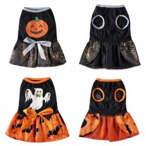 Pet Halloween Funny Princess Dress Cosplay Costume For Small And Medium Dogs