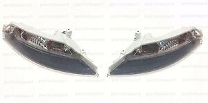 BMW E63 645Ci 650i M6 Set of 2 OEM Turn Signal Lights (Blinkers) with White Lens