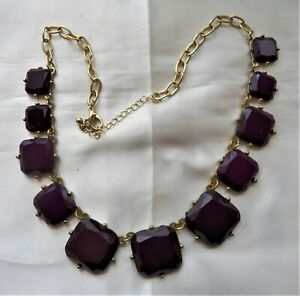 Deep Purple Statement Necklace #jewelry #fashion #necklace