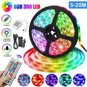 Led Strip Lighting 5M 10M 15M 20M 5050 RGB LEDs Flexible Color Changing Lights