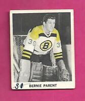 RARE 1965-66 COCA COLA BRUINS BERNIE PARENT   CARD