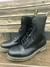 NWOT Brand New Dr. Martens 1490 Smooth Black Boots Mens Size 12