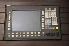 """SIEMENS SINUMERIK OP012 12.1"""" LCD  6FC5203-0AF02-0AA1 DISPLAY OPERATOR PANEL"""