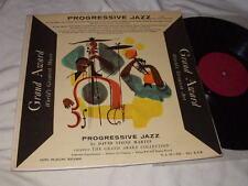 Progressive Jazz/Grand Award LP Mono David Stone Martin Cover Al Klink Quintet