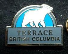 Terrace British Columbia Pin - Polar Bear