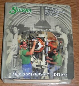 SIERRA HANDGUN RELOADING MANUAL 50TH ANNIVERSARY EDITION, 4TH ED, 1995