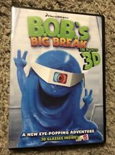 DreamWorks 2011 DVD Bobs Big Break - In Monster 3D Includes 3D Glasses