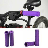 1 Paar MTB Bike Mountainbike Lenker Lenker aus weichem Gummi Lenkerendgrif Heiß