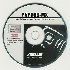 ASUS P5P800-MX Motherboard Drivers Installation Disk M568