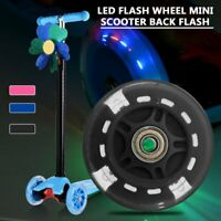 80Mm Led Flash Wheel Mini Or Maxi durable Scooter Flashing Lights Back Rear