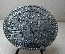 1989 Hesston NFR Rodeo Belt Buckle (Adult size)