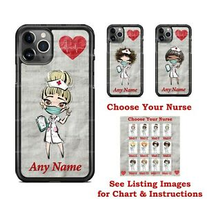 Choose Your NURSE Health Professional Design Phone Case Cover for iPhone Samsung