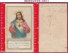 2945 SANTINO HOLY CARD SACRO CUORE DI GESù